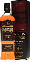 Bushmills 16 years Three Woods / Best Irish Whiskey from 13-20 years