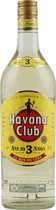 Havana Club Gold Rum 3 years 1 liter