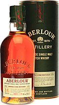 Aberlour+16+Jahre+Double+Cask+Matured+-+Gold+Medal+2010+bei+der+IWSC - Aberlour 16 years with 700 ml. and 43 % volume.   Matured in traditional casks and later in sherry casks. The nose is rich, dry, floral and sweet.  The palate is smooth, full, sweet floral and spicy f...