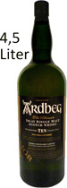 Ardbeg+Ten+-+10+Jahre+4%2C5+Liter - Ardbeg TEN Whisky 10 years with 46 % volume and 4,5 liter content  from Islay.   A peaty salty Single Malt Whisky well know around the world. Ardbeg Ten Years Old is a very special bottling for the Ar...