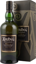 Ardbeg+Uigeadail+Whisky+%2F+Doppeltes+Gold+2008 - Ardbeg Uigedail Whisky with 70 cl. and 54,2 % volume.   The Ardbeg Uigeadail is powerfully peaty Ardbeg with sweet notes as well.  In 2009, Jim Murrays Whisky Bible named Ardbeg Uigeadail World Whis...