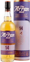 Arran+Whisky+14+Jahre - Arran 14 years with 700 ml. and 46 % vol.   The Arran Distillery opened its doors in 1995.  Nice warm Whisky.