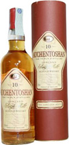 Auchentoshan+10+Jahre+-+Alte+Version - Auchentoshan 10 years with 1 liter and 40 % volume. Old Version  A smooth and grassy Lowland Single Malt with a lot of character. Triple distilled.   Colour: Gold. Body: Medium bodied. Nose: Soft Fres...