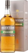 Auchentoshan Springwood 1,0 Liter - Auchentoshan Springwood Whisky with 1,0l and 40% Vol.  Auchentoshan is the only Lowland Distillery that triple distills every drop of whisky.  Matured in fines Bourbon casks to get a nice vanilla and ...