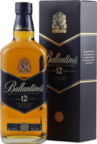 Ballantines 12 years - Ballantines 12 years 700 ml. and 40 % volume from Ireland. A mild smooth Whisky like Johnnie Walker Pure Malt.   Tasting Notes Huge bouquet of honey, high suggestion of oak Complex, flowers, honey and...