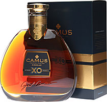 Camus+XO+Cognac - Camus XO Cognac with 700 ml. and 40 % volume.  The Camus XO Cognac - a 30-40 years old Cognac with fruity aroma and a little bit nuts and vanilla taste.    Cognac Camus has been handed down since five...