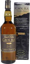 "Caol Ila Distiller Edition 2011 / 1998 - Caol Ila Distillers Edition 2011 with 43% volume and 0,7 liter.  Caol Ila is Galic and means ""the sound"". There are different notes between sea and olive oil.  The tasting notice of the Caol..."
