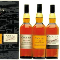 Caol+Ila+Geschenkset+3+x+200+ml. - Caol Ila Gift Set with 3 x 200 ml.  The Caol Ila Gift set consists of this bottles:  Caol Ila 12 years with 200 ml. and 43 % volume Caol Ila 18 years with 200 ml. and 43 % volume Caol Ila Cask Strengt...