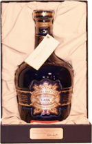 Chivas Royal Salute Hundred Cask Selection - Chivas Royal Salute Hundred Cask Selection with 700 ml. and 40 % volume from Scotland.  The Master Blender at Royal Salute hand-selects the Chivas Regal Royal Salute hundred casks that have reached pe...