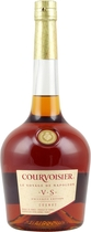 Courvoisier+VS+Cognac - Courvoisier VS Cognac with 700 ml. and 40 % volume.  Matured for round about 2-3 years. Legend has it that Napoleon held Courvoisiers Cognac in such high esteem that he took with him hundreds of bottl...