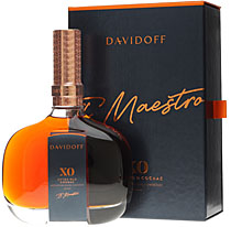Davidoff XO Cognac - Davidoff XO Cognac with 0,7l and 40% Vol  Normally Davidoff is a tobacco trader and a cigar producer. Now they produce in cooperation with Hennessy Cognac the Davidoff XO as a &quot;big brother&quot; ...
