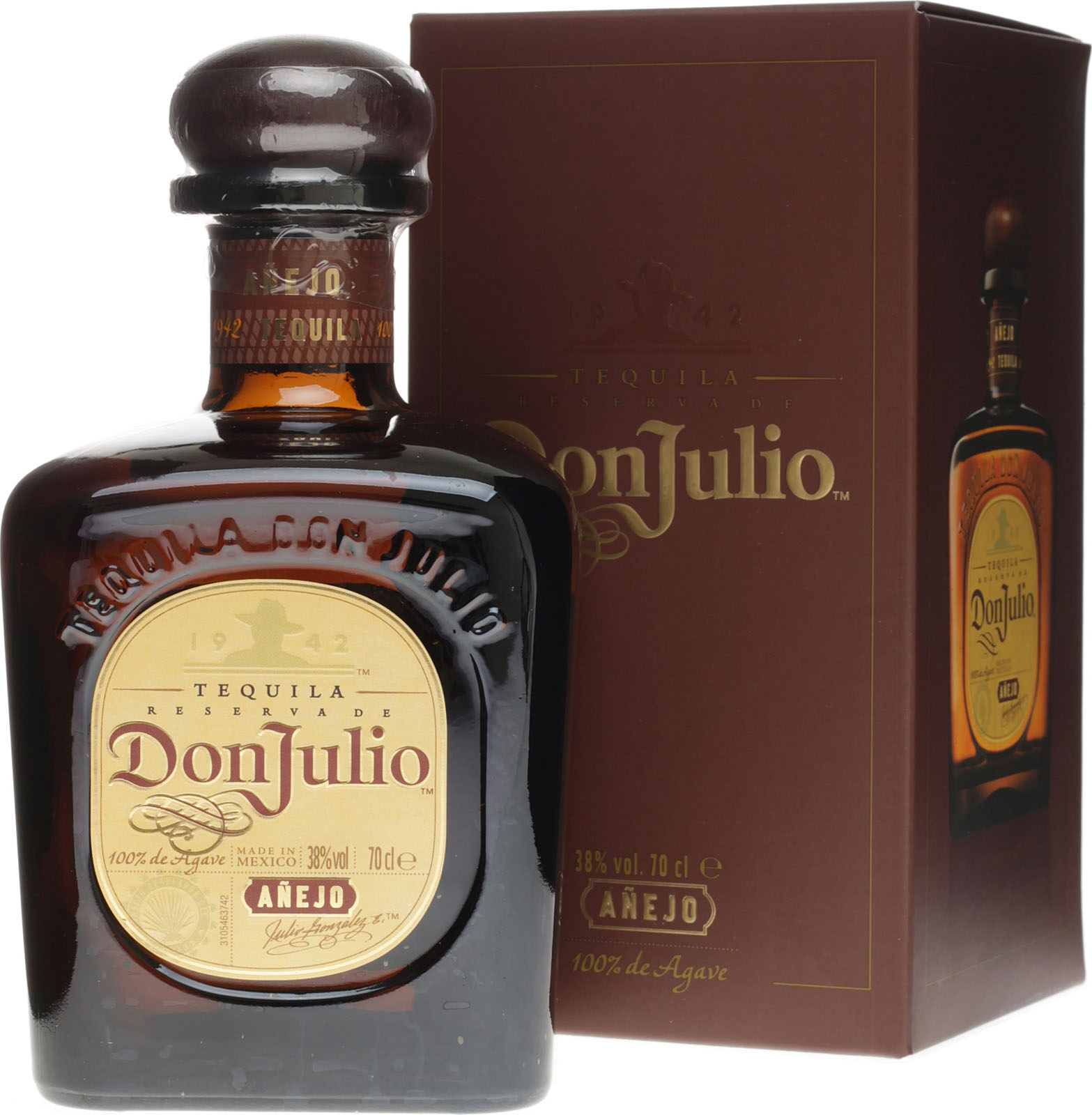 Venus on ice  Don-Julio-Anejo-Tequila-Numbered.539a