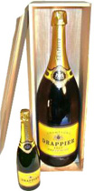 Drappier Brut Carte Dor Champagner 12 liter - Drappier Carte D\'or Brut with 12 liter and 12 % volume. A really good champanger. Drappier\'s Carte d\'Or Brut champagne has all the aroma of the Pinot Noir grape variety, which in fact makes up 90% ...
