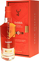 Glenfiddich 21 Jahre Gran Reserva Rum Cask Finish - Glenfiddich 21 years with 0,7l and 40% Vol.  A replacement for the popular Gran Reserva this is still finished in rum casks.  Tasting notes of the Glenfiddich 21 years:  Color: amber color Taste: toff...