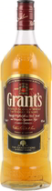 Grants+Whisky+1+Liter - Grants Whisky 1 Liter bottle with 40 % volume from Scotland.   The Grants Family Reserve Whisky is distilled after the original recipe of company founder William Grant in the year 1898. The master dis...