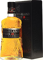 Highland+Park+18+Jahre - Highland Park 18 years. 70 cl. and 43 % volume. An elite whisky.  First released in 1997, Highland Park immediately found favour with whisky writers and enthusiasts all over the world. It is a perfect...