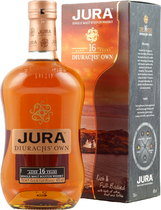 Isle+of+Jura+16+Jahre - Isle of Jura 16 Years with 40 % volume and 700 ml.  A delicious and sophisticated dram with impressive depth and almost perfect weight.&quot; - Jim Murray   Some Tasting notes of the Isle of Jura 16 y...