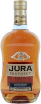 Isle+of+Jura+Prophecy - Isle of Jura Prophecy with 700 ml. and 46 % volume.   Prophecy is a profoundly peated spirit. Peat smoke, fresh cinnamon and spicy sea spray lead the first assault. Finnally the tarry bonfire notes sl...