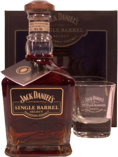 Jack Daniels Single Barrel Giftbox with a Whisky tumbler