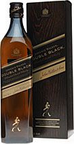 Johnnie+Walker+Double+Black - Johnnie Walker Double Black with 40 % volume and 700 ml. from Scotland.  The Johnnie Walker Double Black is much more smoky and has a deeper aroma than the regular Black Label, although very smooth in...