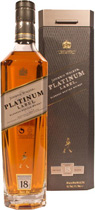 Johnnie Walker Platinum Label - The Private Blend - Johnnie Walker Platinum Label � The Private Blend mit 0,7l und 40% Vol.  All the Whiskys for this blend had to mature at least 18 years in oak casks to build their full body. The private blend is an o...