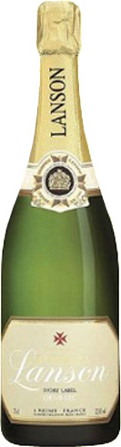 Lanson Demi Sec Champagner (Ivory Label)
