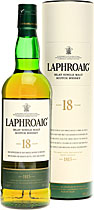 Laphroaig+18+Jahre - Laphroaig 18 years with 700 ml. and 48 % volume.   The new Laphroaig 18yo is a replacement for the 15 year-old (Prince Chuck\'s favourite whisky, lest we forget, and it\'ll be sorely missed when it\'s...
