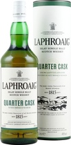 Laphroaig+Quarter+Cask+1+Liter - Laphroaig Quarter Cask with 1 Liter and 48 % volume.   This Expression has enjoyed a second maturation in small quarter casks. Laphroaig Quarter Cask is barrier filtered only and bottled at a higher s...