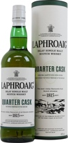 Laphroaig+Quarter+Cask - Laphroaig Quarter Cask with 700 ml. and 48 % volume.   This Expression has enjoyed a second maturation in small quarter casks. Laphroaig Quarter Cask is barrier filtered only and bottled at a higher s...