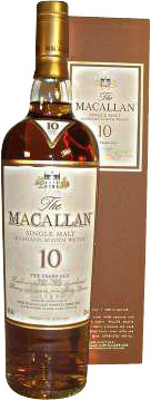Macallan 10 years Sherry Oak Finish