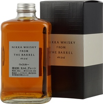 Nikka+Whisky+from+the+Barrel - Nikka Whisky from the Barrel is a japanese Whisky with 500 ml. and 51 % volume direct from the barrel in the bottle.