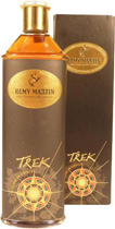 Remy Martin Trek - Remy Martin Treck Cognac with 350 ml. and 40 % volume.   The cellarmaster has recreated one of these rich and intensely aromatic cognacs, evoking a sense of lands unknown, wide open spaces and total f...