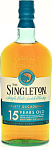 Singleton 15 years - Singleton 15 years with 700 ml. and 40 % volume from Speyside.   The Speyside Single Malt has rich aroma, smooth flavour and sweetly spiced, drying finish.   Tasting notes of the Singleton 15 years:  ...