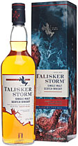 "Talisker Storm - Talisker Storm with 0,7l and 45,8% Vol.  For more than 180 years the Isle of Skye is home to Talisker.  This ""Storm"" in the glas is a new Talisker with great maritime and salt notes.  It app..."