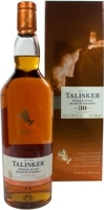 Talisker Whisky 30 years / Edition 2012 - Talisker 30 years Release 2012 with 700 ml. and 45,8% Vol.   Only 3186 bottles was filled cask strength from the Isle of Skye.