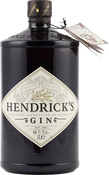 Hendricks Gin 1 Liter mit 44 % Vol. aus England dem Land des Gins