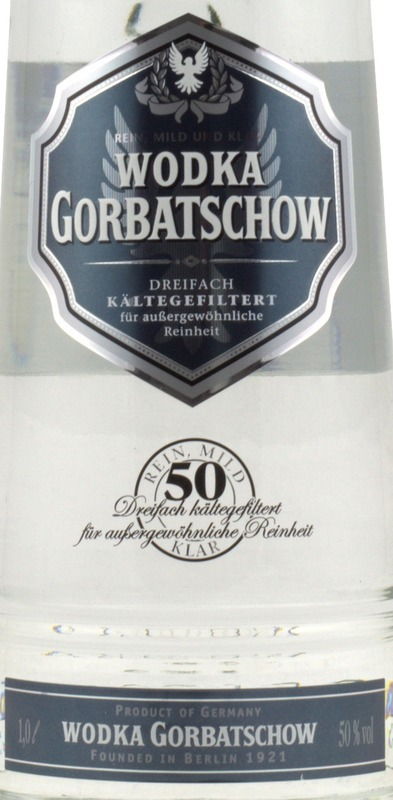 gorbatschow black label 1 liter bei spirituosen superbillig. Black Bedroom Furniture Sets. Home Design Ideas