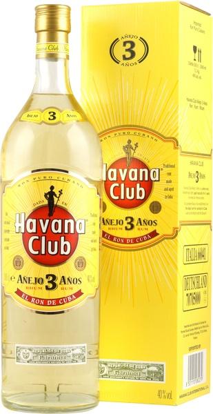 Havana Club 3 Jahre Rum in der 3,0 Liter Flasche mit 40 % Vol. kaufen