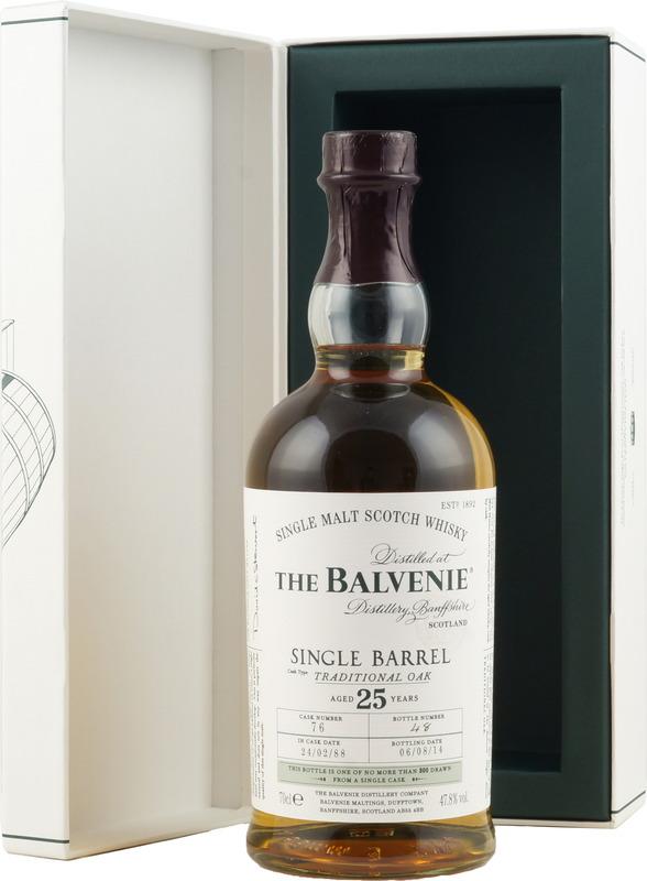 Balvenie single barrel 25