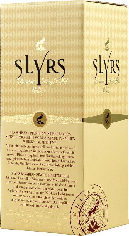 Slyrs bavarian single malt whiskey