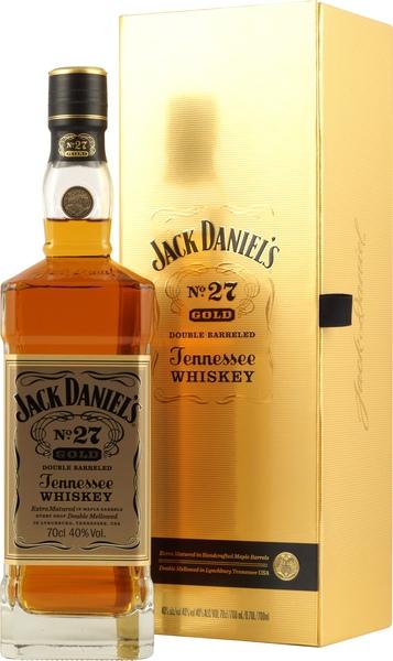 jack daniels no 27 gold kaufen der double barreled whiskey. Black Bedroom Furniture Sets. Home Design Ideas