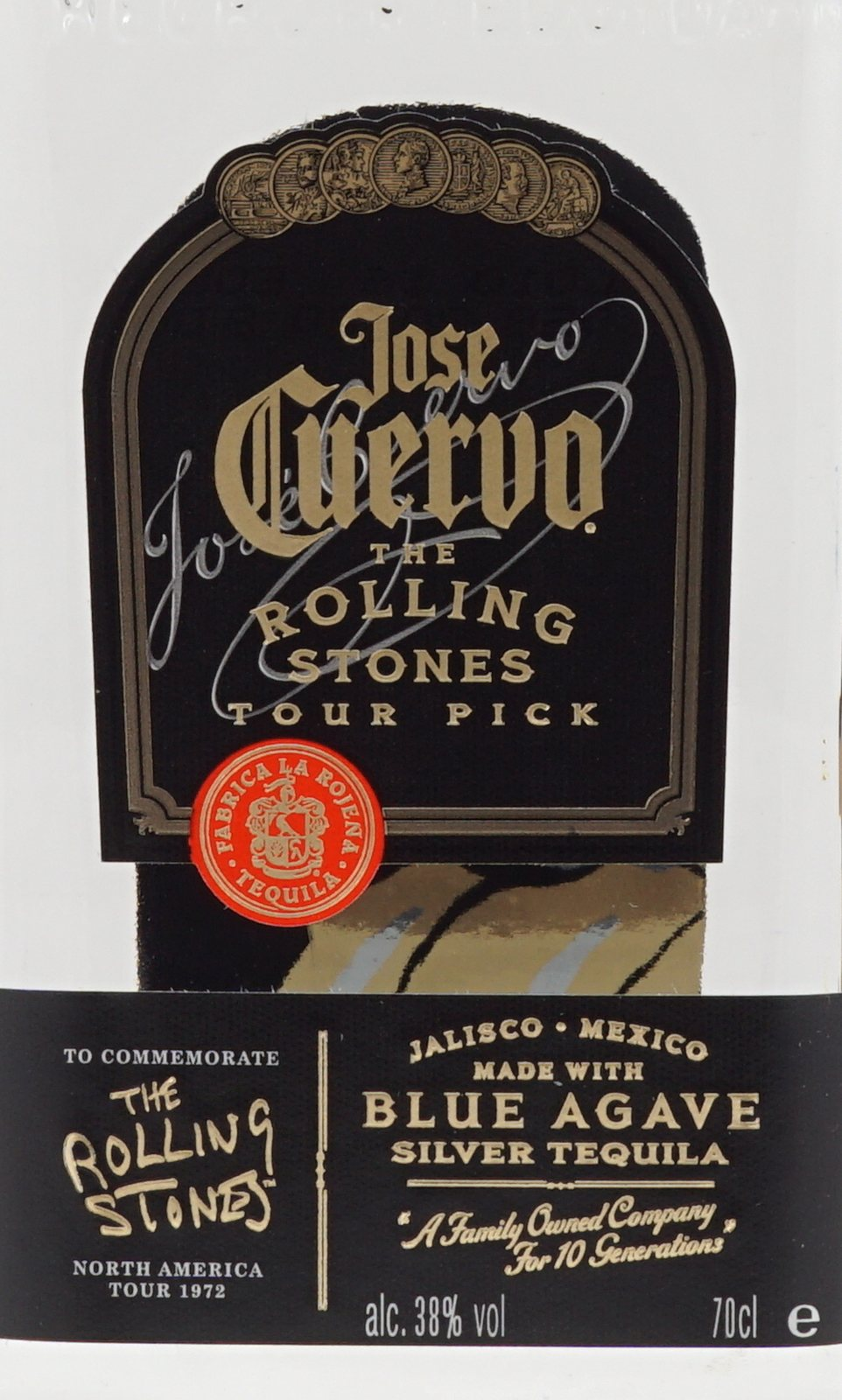 jose cuervo especial silver tequila rolling stones edition