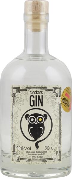 Clockers Gin ist eine Spezialität aus Hamburg hier günstig im Gin Shop