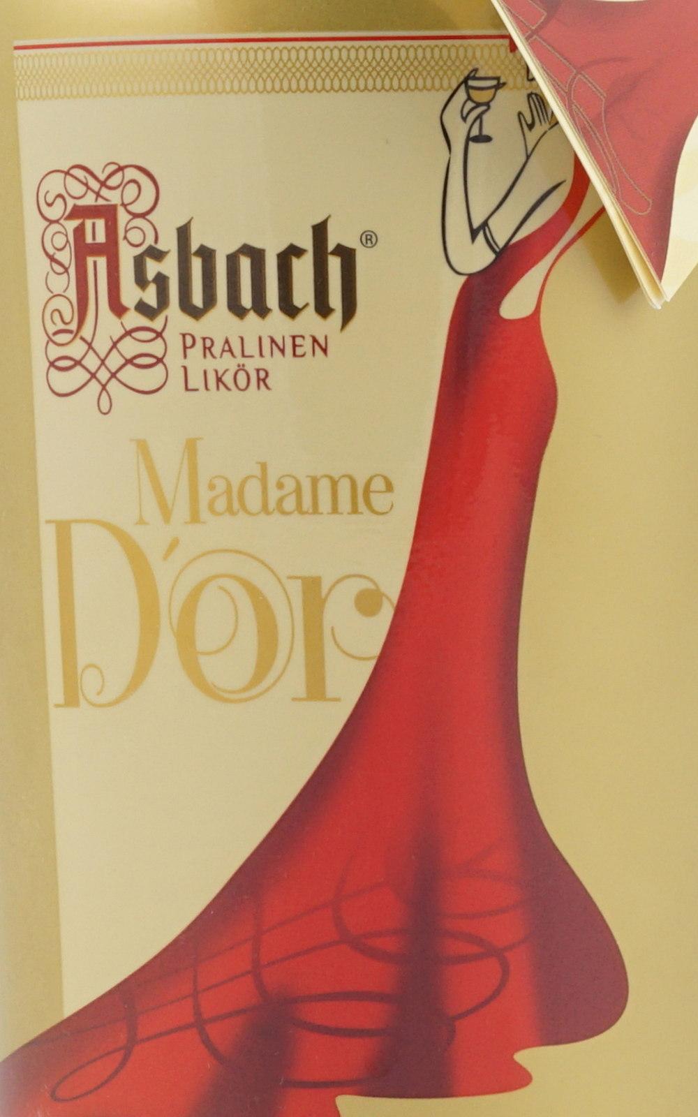 Asbach Madame Dor Pralinenlikör 0,7 Liter 15 % Vol