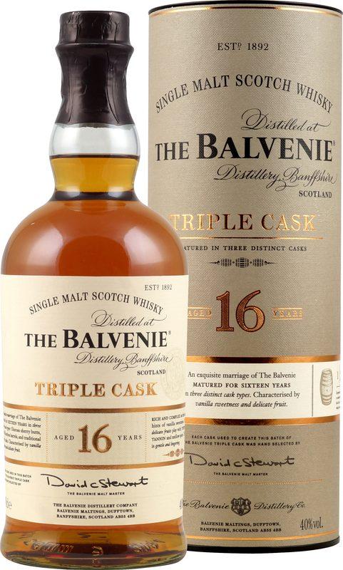 The Balvenie Triple Cask 16 Jahre 0,7l 40% ab 88,99 € | Preisvergleich bei blogger.com