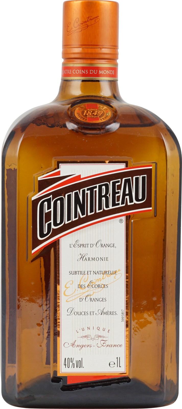 Cointreau Likör 1 Liter - Klassischer, französischer Likör aus Orange