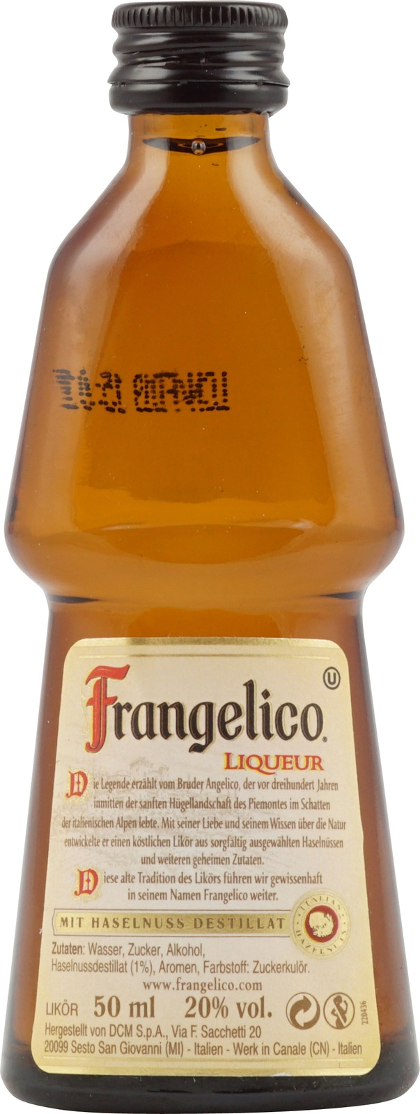 Haselnusslikör Frangelico
