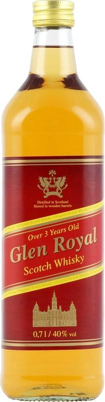 Glen Royal Scotch Whisky 07 Liter 40 1100 Whiskys Im Shop