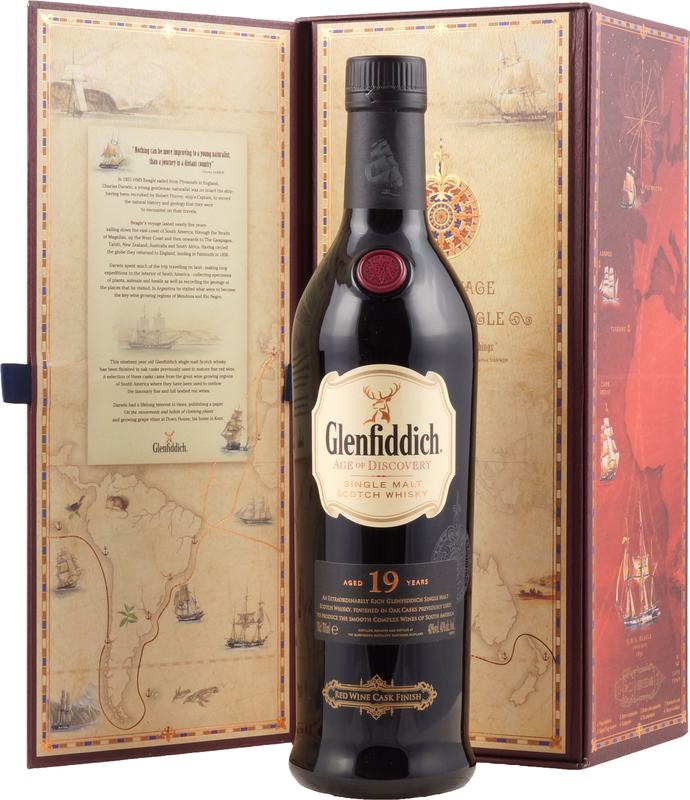 Glenfiddich Age Of Discovery 19 Jahre Red Wine Cask Hier