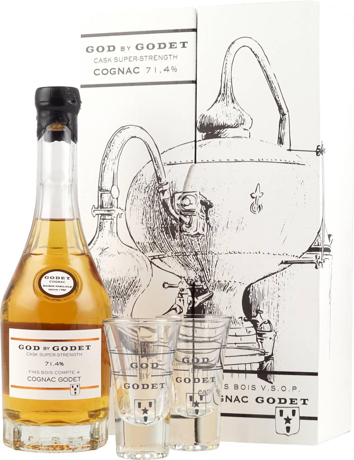 God by Godet der Premium Cognac in der Super Cask Strength Edition